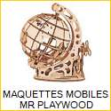 Maquettes Mobile en bois Mr Playwood